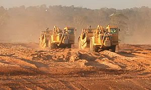 Wholesale Nursery Earthworks on our new site in Western Sydney